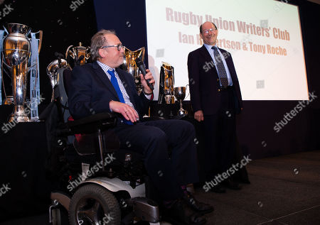 Editorial image of Rugby Union Writers' Dinner & Awards, London Marriott Hotel, Grosvenor Square, London, UK - 14/01/2019