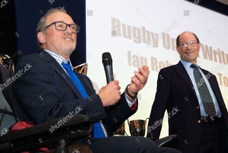 Editorial photo of Rugby Union Writers' Dinner & Awards, London Marriott Hotel, Grosvenor Square, London, UK - 14/01/2019