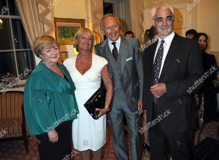 Stock Image of Maggie Darling, Stephanie Tillman, Harold Tillman and Alistair Darling
