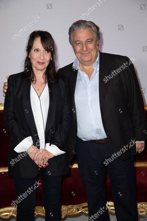 Christian Clavier and Chantal Lauby
