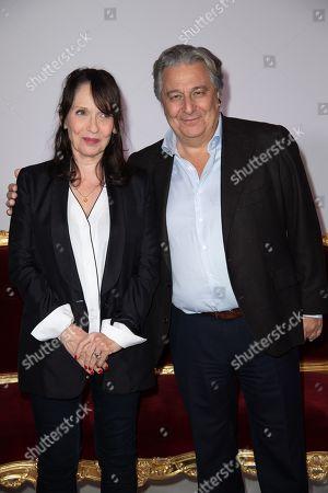 Editorial photo of 'Qu'est-ce qu'on a encore fait au Bon Dieu' film premiere, Paris, France - 14 Jan 2019