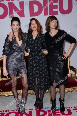 Frederique Bel, Julia Piaton and Emilie Caen