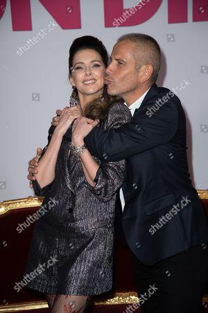 Frederique Bel and Medi Sadoun