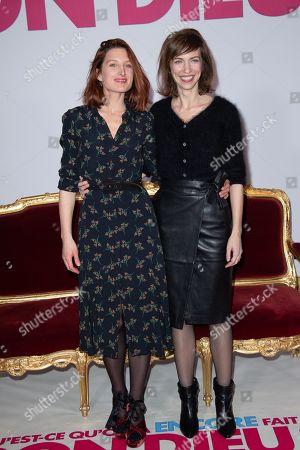 Julia Piaton and Emilie Caen