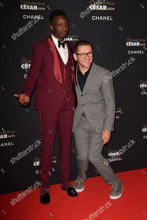 Ahmed Sylla and Dany Boon