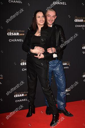Beatrice Dalle and Felix Maritaud
