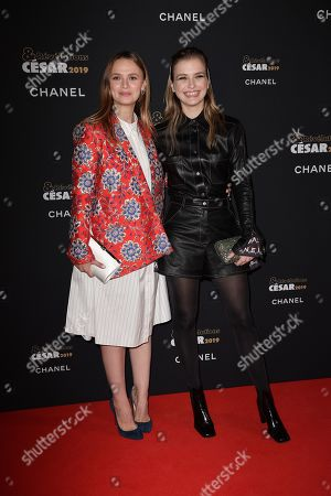 Sara Forestier and Camille Razat