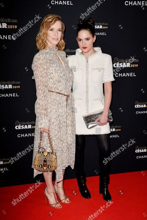 Lea Drucker and Clemence Boisnard