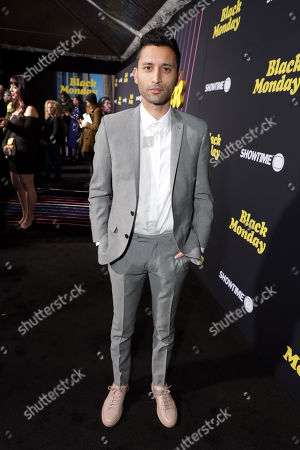 Editorial image of Black Monday premiere at the Ace Hotel Theatre, Los Angeles, CA, USA - 14 January 2019