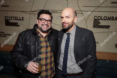 Horatio Sanz and Paul Scheer