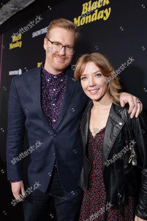 Stock Image of Kurt Braunohler and Lauren Cook