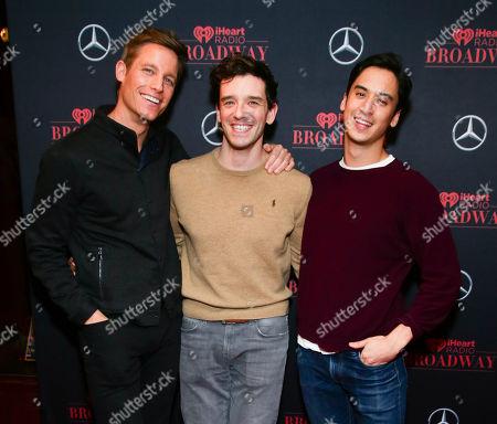 Ward Horton, Michael Urie, Michael Hsu Rosen