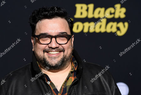"Horatio Sanz, a cast member in the Showtime television series ""Black Monday,"" poses at the premiere of the show, in Los Angeles"