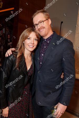 Stock Photo of Lauren Cook and Kurt Braunohler