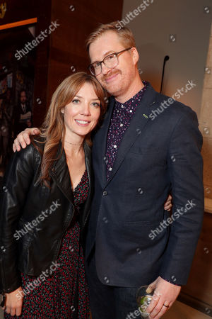 Stock Picture of Lauren Cook and Kurt Braunohler