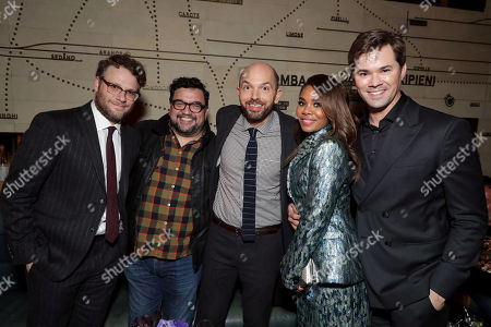 Seth Rogen, Executive Producer, Horatio Sanz, Paul Scheer, Regina Hall and Andrew Rannells
