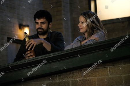 Sean Teale as Marcos Diaz/Eclipse and Amy Acker as Kate Strucker