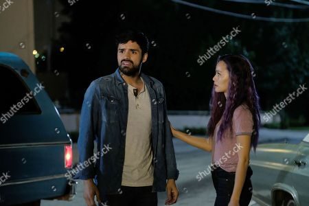 Sean Teale as Marcos Diaz/Eclipse and Jamie Chung as Clarice Fong/Blink