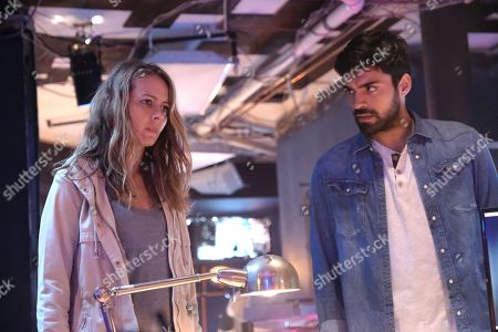 Amy Acker as Kate Strucker and Sean Teale as Marcos Diaz/Eclipse