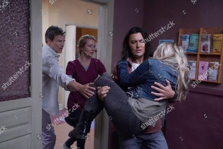 Stephen Moyer as Reed Strucker, Amy Acker as Kate Strucker, Blair Redford as John Proudstar/Thunderbird and Natalie Alyn Lind as Lauren Strucker