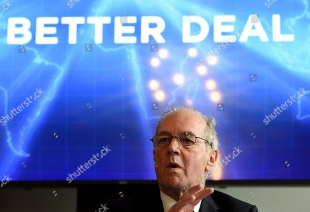 Former trade minister Peter Lilley speaks at 'A Better Deal' event in London, Britain, 15 January 2019. Parliamentarians are voting on the postponed Brexit EU Withdrawal Agreement, commonly known as The Meaningful Vote, deciding on Britain's future relationship with the European Union.
