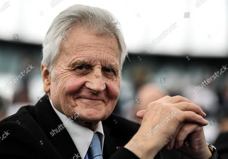 Former European Central Bank (ECB) President Jean-Claude Trichet smiles after delivering his speech at the European Parliament in Strasbourg, France, 15 January 2019, during the 20 years commemoration of the Euro.