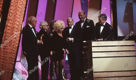 Editorial photo of 'The British Comedy Awards' TV Show UK  - Dec 1990