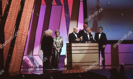 Editorial picture of 'The British Comedy Awards' TV Show UK  - Dec 1990