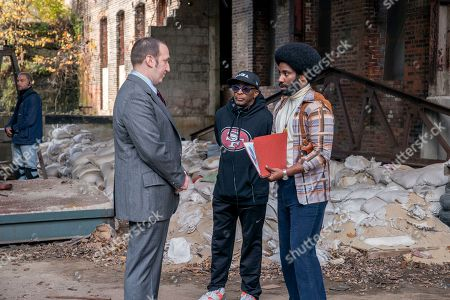 Chayse Irvin Director of Photography, Danny Hoch as Agent Y, Spike Lee Director, John David Washington as R Stallworth