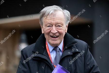 Stock Image of Lord Alf Dubs seen walking through Westminster. This evening, MPs are due to vote on British Prime Minister Theresa May's EU withdrawal deal, after the previous vote in December was postponed.