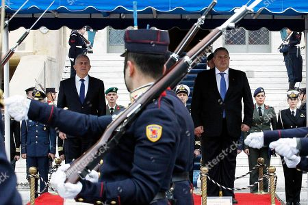 Editorial photo of Switchover ceremony at the Greek National Defence Ministry, Athens, Greece - 15 Jan 2019