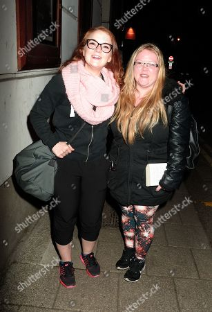 Editorial photo of Lorna Fitzgerald out and about, London, UK - 14 Jan 2019