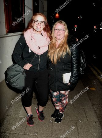 Editorial image of Lorna Fitzgerald out and about, London, UK - 14 Jan 2019
