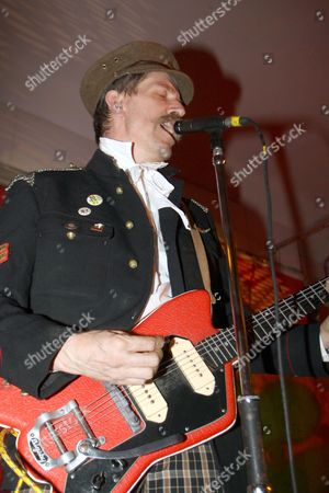 Editorial photo of Billy Childish and The Musicians Of The British Empire  in concert at the Boston Arms, London, Britain - 18 Sep 2009