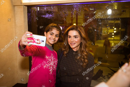 Queen Rania visits the Children's Museum, Amman