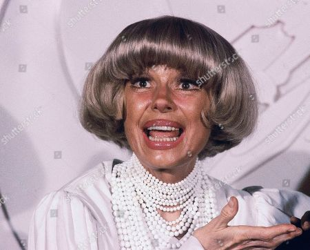 Carrol Channing. Actress Carol Channing at the Grammy Awards in Los Angeles. Channing, whose career spanned decades on Broadway and on television has died at age 97. Publicist B. Harlan Boll says Channing died of natural causes early in Rancho Mirage, Calif