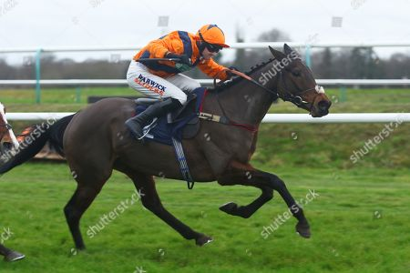 POTTERS MIDNIGHT ridden by Jack Quinlan 1st The Read Davy Russell's Exclusive Blog starsportsbet.co.uk Handicap Hurdle at Lingfield Copyright: Ian Headington/racingfotos.com