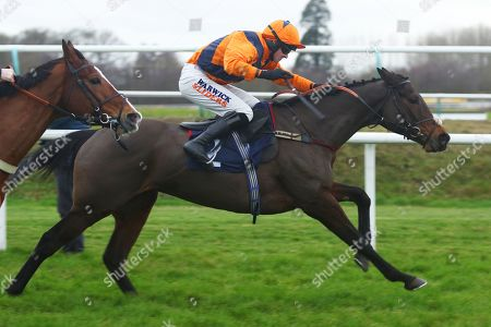 POTTERS MIDNIGHT ridden by Jack Quinlan powers away from the last before winning The Read Davy Russell's Exclusive Blog starsportsbet.co.uk Handicap Hurdle at Lingfield Copyright: Ian Headington/racingfotos.com