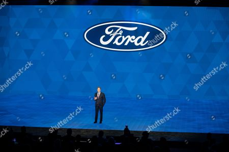 Bill Ford, Ford Motor Company Executive Chairman, at the Ford presentation during the 2019 North American International Auto Show - NAIAS.