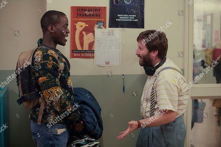 Ncuti Gatwa as Eric and Jim Howick