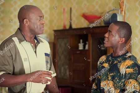 DeObia Oparei and Ncuti Gatwa as Eric