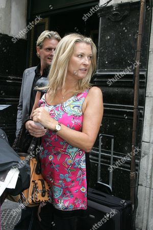 Gillian Taylforth And Matthew Cutler 28.8.08  Strictly Come Dancing Celebs 2008.
