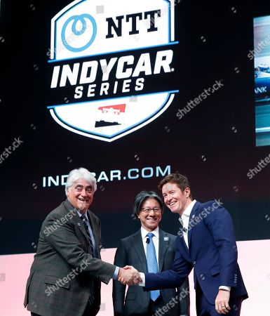 Editorial picture of IndyCar Title Sponsor Racing, Detroit, USA - 15 Jan 2019