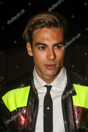 Corentin Huard at Dsquared2 show