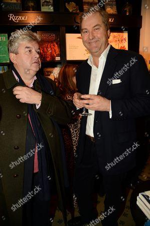Harry Herbert and guest