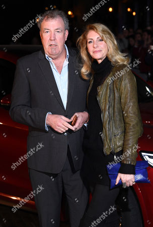 Stock Picture of Jeremy Clarkson and Lisa Hogan
