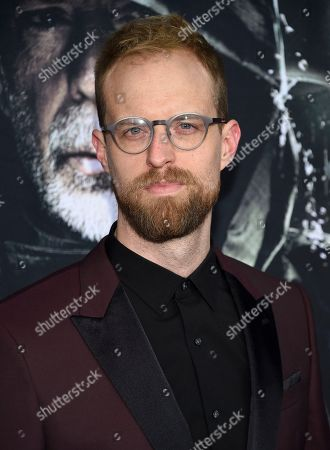 "Stock Photo of Adam David Thompson attends the premiere of ""Glass"" at the SVA Theatre, in New York"