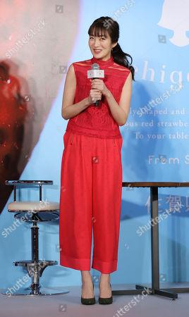 Stock Picture of Japanese actress Rin Takanashi