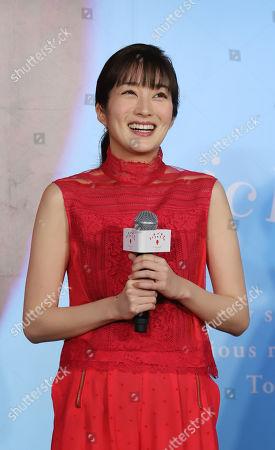 Japanese actress Rin Takanashi