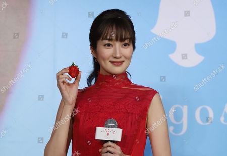 Stock Image of Japanese actress Rin Takanashi